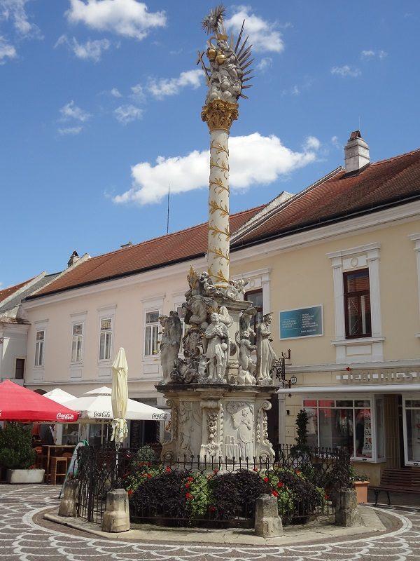 Besichtigung von Eisenstadt Pestsäule
