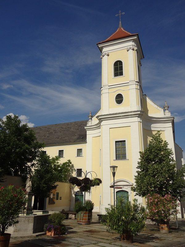 Besichtigung von Eisenstadt Franziskaner Kirche