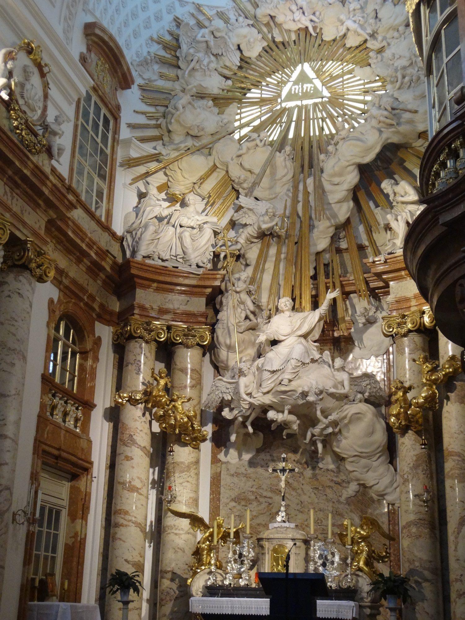 Wiener Karlskirche Hochaltar