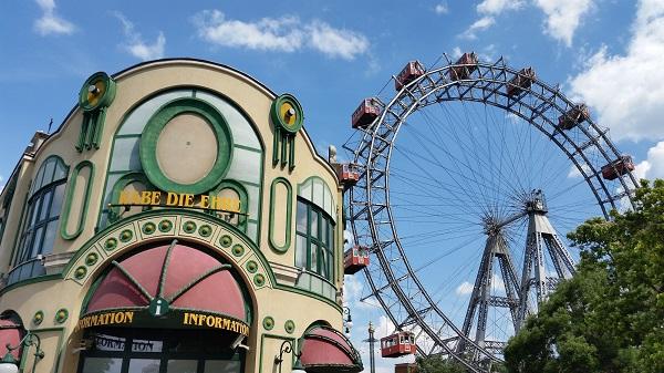 Wien Wiener Prater Riesenrad