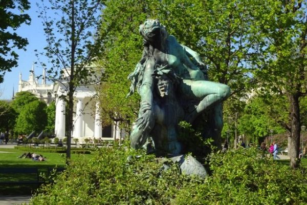 Wiener Volksgarten Springbrunnen