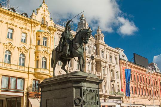 Stadtspaziergang Zagreb
