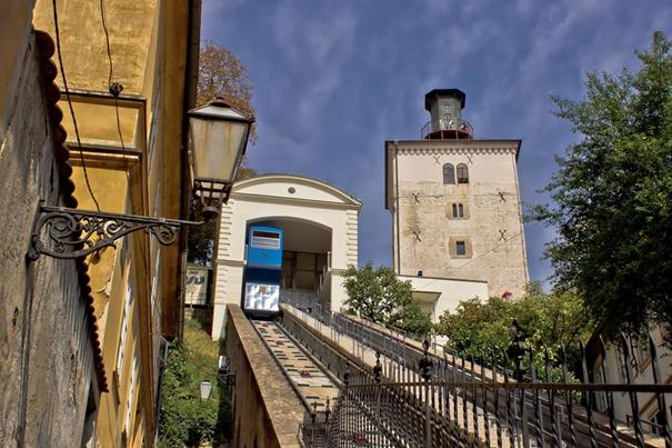 Stadtführung Zagreb Standseilbahn