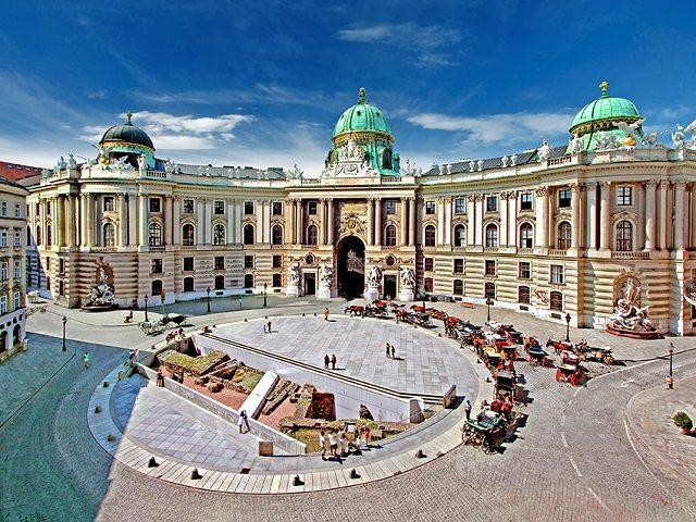 Historische Stadtführung Wiener Altstadt Michaelerplatz
